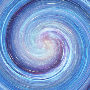 XL Yard Panel VORTEX SWIRL NEBULA STARRY SKY
