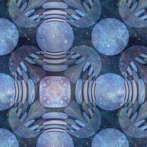 ANCIENT MARLED OPAL STONE TILES 4 MAUVE BLUE PAVEMENT