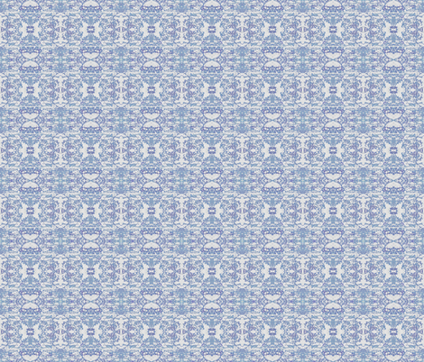 Faded Delft Blue fabric by peaceofpi on Spoonflower - custom fabric
