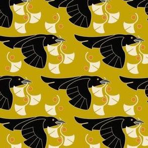 Raven Ginkgo