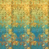 sunset batik