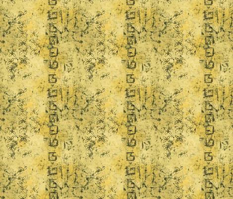 yellow ochre batik fabric by designed_by_debby on Spoonflower - custom fabric