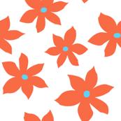 island flowers orange