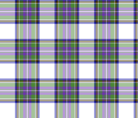 "Pritchard tartan, 6"" modern fabric by weavingmajor on Spoonflower - custom fabric"