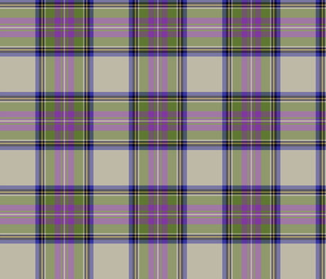 "Pritchard tartan, 6"" ancient fabric by weavingmajor on Spoonflower - custom fabric"