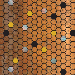 Honeycomb - Copper