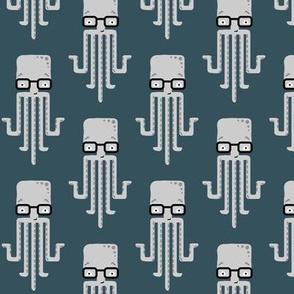 hipster octopus