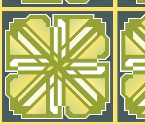 Citrus_Power_Lemon fabric by daynatextiles on Spoonflower - custom fabric
