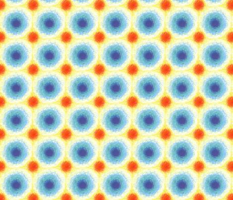 Tropical_Rainbow_ fabric by pookeek on Spoonflower - custom fabric