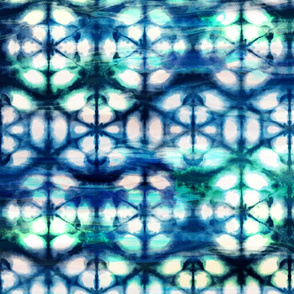 Aquamarine Shibori Repeat
