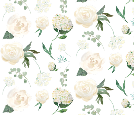 white fabric by hudsondesigncompany on Spoonflower - custom fabric