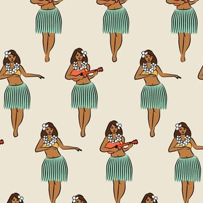 hula girl w/mint