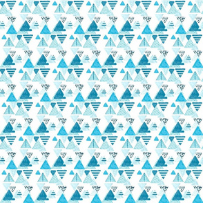 Patterned_triangles_blues_-_Sketch_1