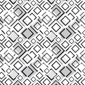 Black and white squared