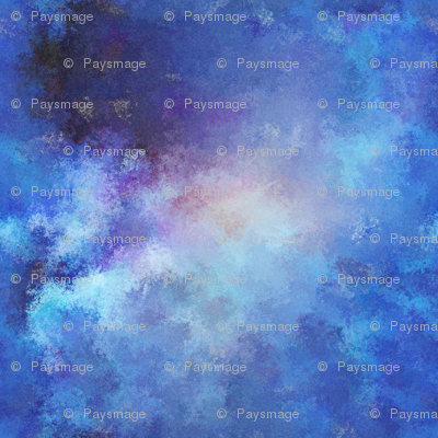 POINTILLIST CLOUDS NEBULA SKY BLUE