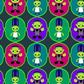 Halloween Mini Frankensteins
