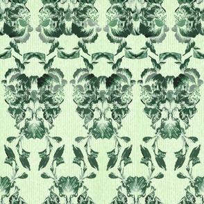 deep_green_flowers_brocade_pattern_1
