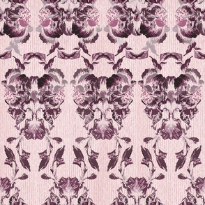 wine_flowers_brocade_pattern 1