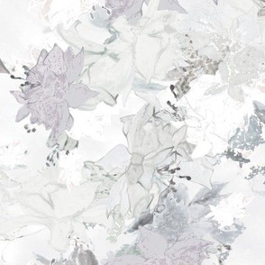 scattered flowers
