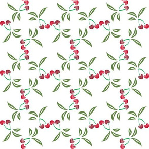 Cherries in formation