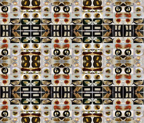comida fabric by hypersphere on Spoonflower - custom fabric