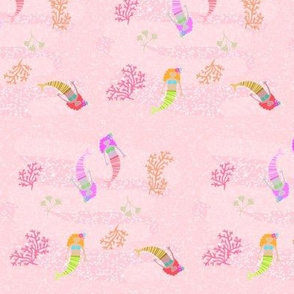 mermaids - 525 pink shimmer