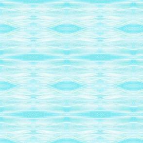 blue sparkle-diamond silk