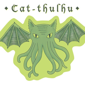 Cat-thulhu plush