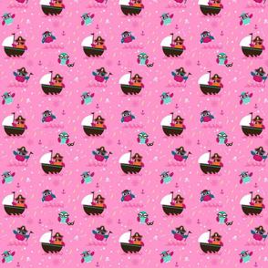 Räuberkinder`s Owl_pink