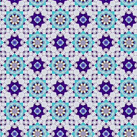 Frozen Snowflakes fabric by whimsydesigns on Spoonflower - custom fabric