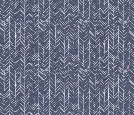 Featherland Dusk/White fabric by leanne on Spoonflower - custom fabric