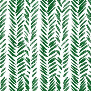 Green Brush Stroke Aztec Boho-ch