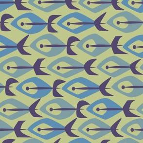 Mid Century Fish 1