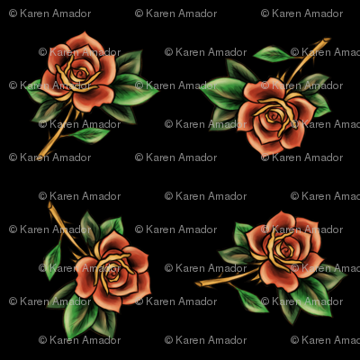 Tattoo Roses