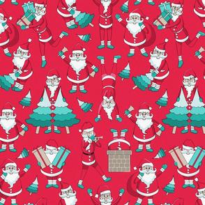Busy Santas 3