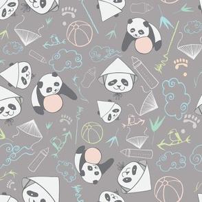 baby pandas dark