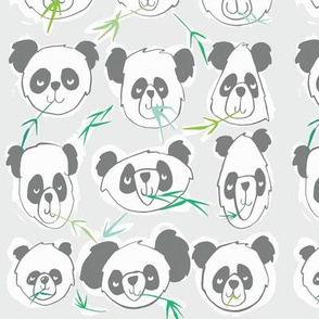 pandas in all shapes