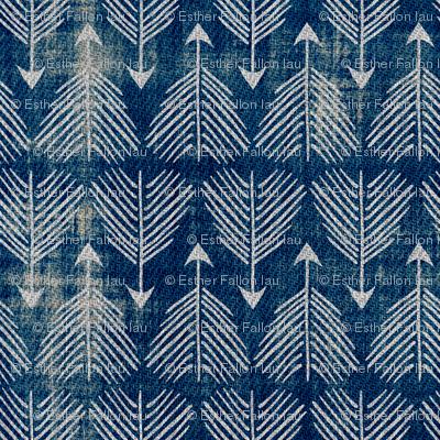 Django Arrows (indigo) SMALL