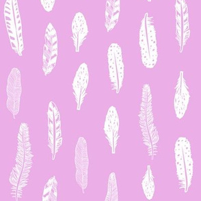 purple fabric feathers nursery baby lavender bright lavender nursery baby