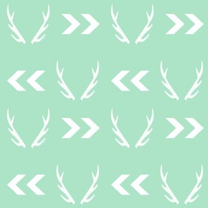 mint antler fabric