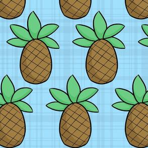 Pineapple Plaid