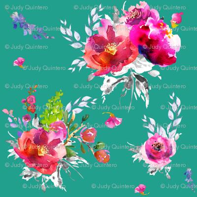 """8"""" Bright Pink Summer / AQUA"""