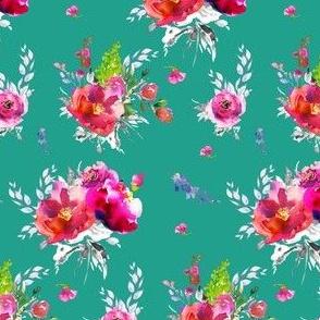 """4"""" Bright Pink Summer / AQUA"""