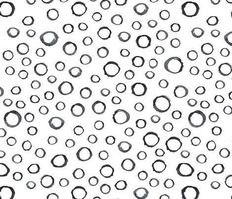 GREY_CIRCLES fabric by octostockus on Spoonflower - custom fabric