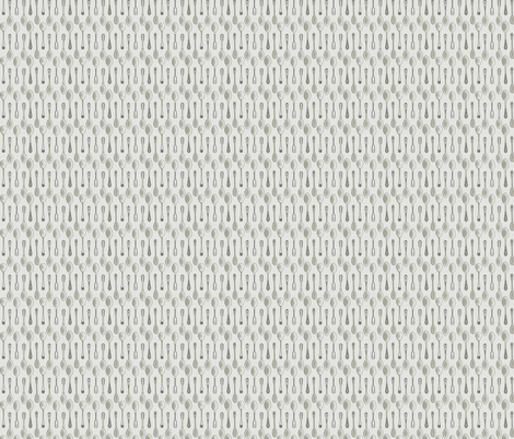 Tiny Teaspoons fabric by a_bushel_of_hops on Spoonflower - custom fabric