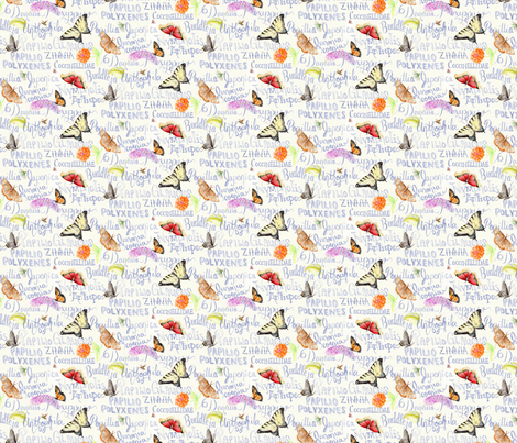 ButterflySketchbook fabric by blairfully_made on Spoonflower - custom fabric