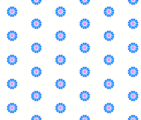 raindrops_and_umbrella_pattern fabric by sarah_be on Spoonflower - custom fabric