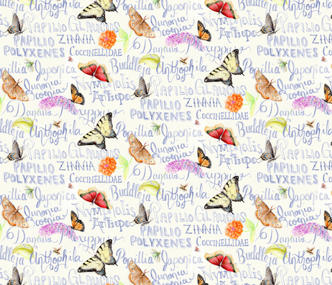 ButterflySketchbookLg fabric by blairfully_made on Spoonflower - custom fabric