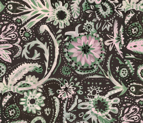 edwardian_Queen fabric by laurieolinder@gmail_com on Spoonflower - custom fabric