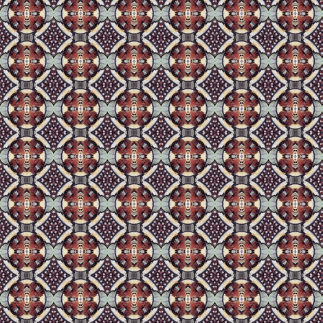 plumagery 18 (small) fabric by hypersphere on Spoonflower - custom fabric